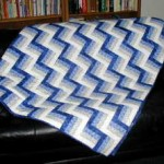 Finished Fence Rail Quilt