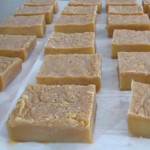 finished soap, ready for labeling